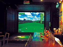 GOLF BAR in out